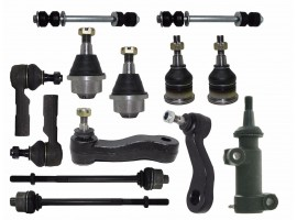 13Pc Kit Ball Joints Tie Rods Sway Bar Ends for Chevy Silverado 2500 HD 1Yr WRTY