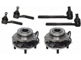 6 Pcs Kit Front Wheel Hub Suspension Parts for Blazer Bravada Jimmy S10 Sonoma