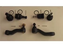 4 Ball Joints Upper Lower 1 Pitman & 1 Idler Arm Yukon Silverado 99-07 Brand New