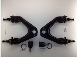 4 Pc Suspension Kit 2 Upper Control Arm 2 Lower Ball Joint Set Lifetime Warranty