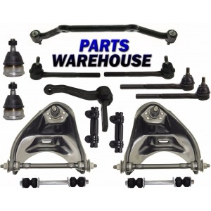 14 Pcs Kit Front Suspension for Chevrolet Blazer S10 GMC Jimmy Sonoma 2WD