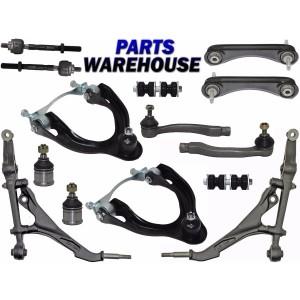 14 Pcs Kit Complete Front & Rear Suspension parts for Honda Civic 1995 - 1992