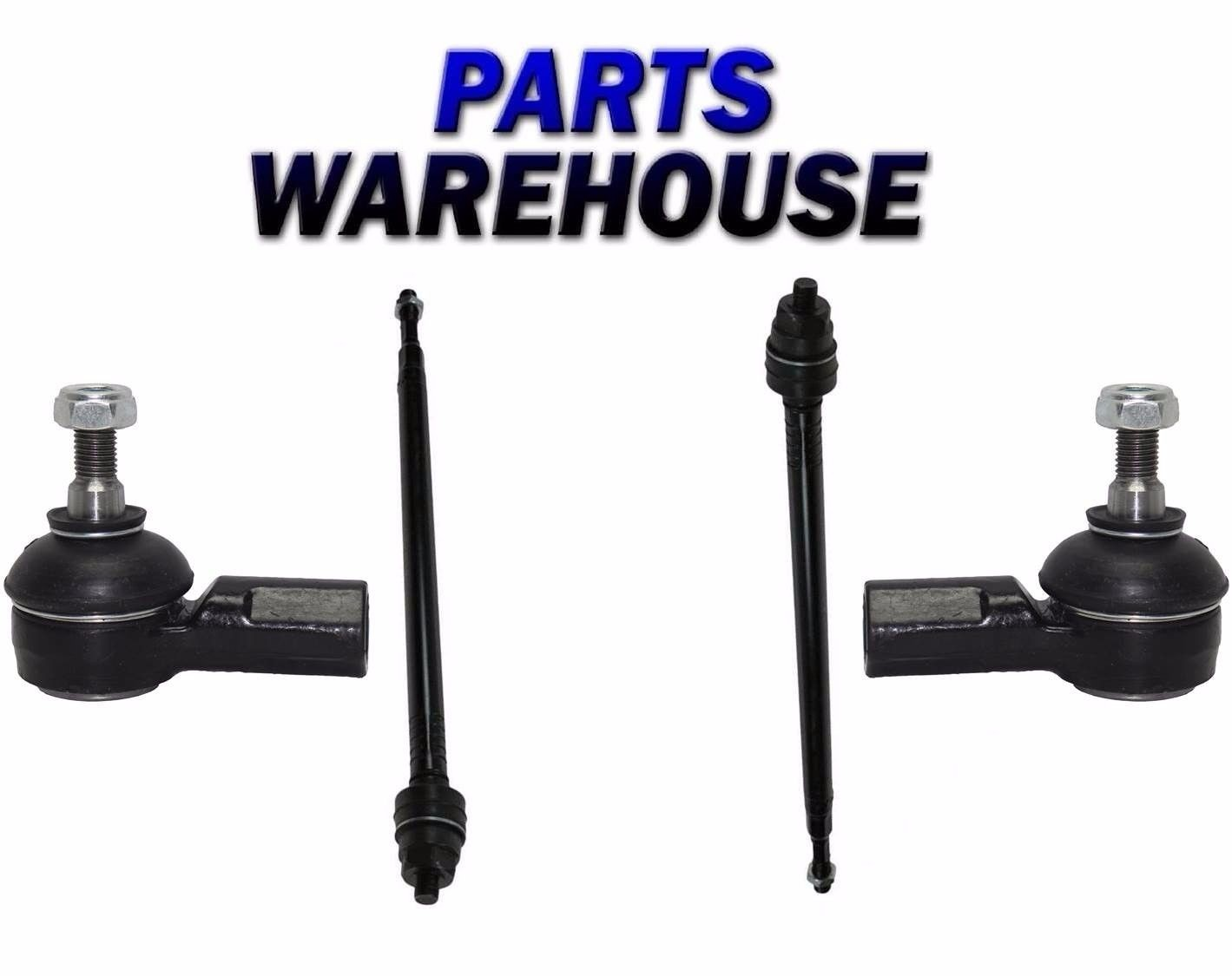 4 Pcs Kit Front Inner Outer Tie Rod Ends Fits Acura El Honda Civic 2005 2001 All Products