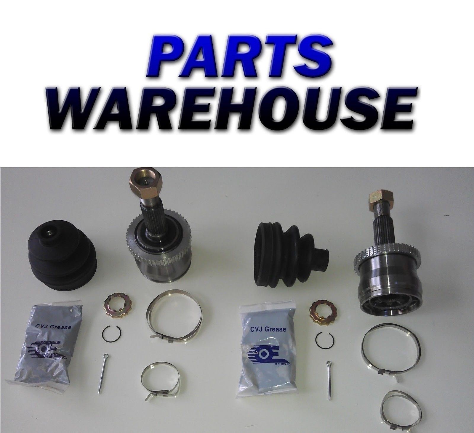 CV Parts 2 Outer Cv Joints Kit Jeep Grand Cherokee Wagoneer 99 01 1 Year Warranty