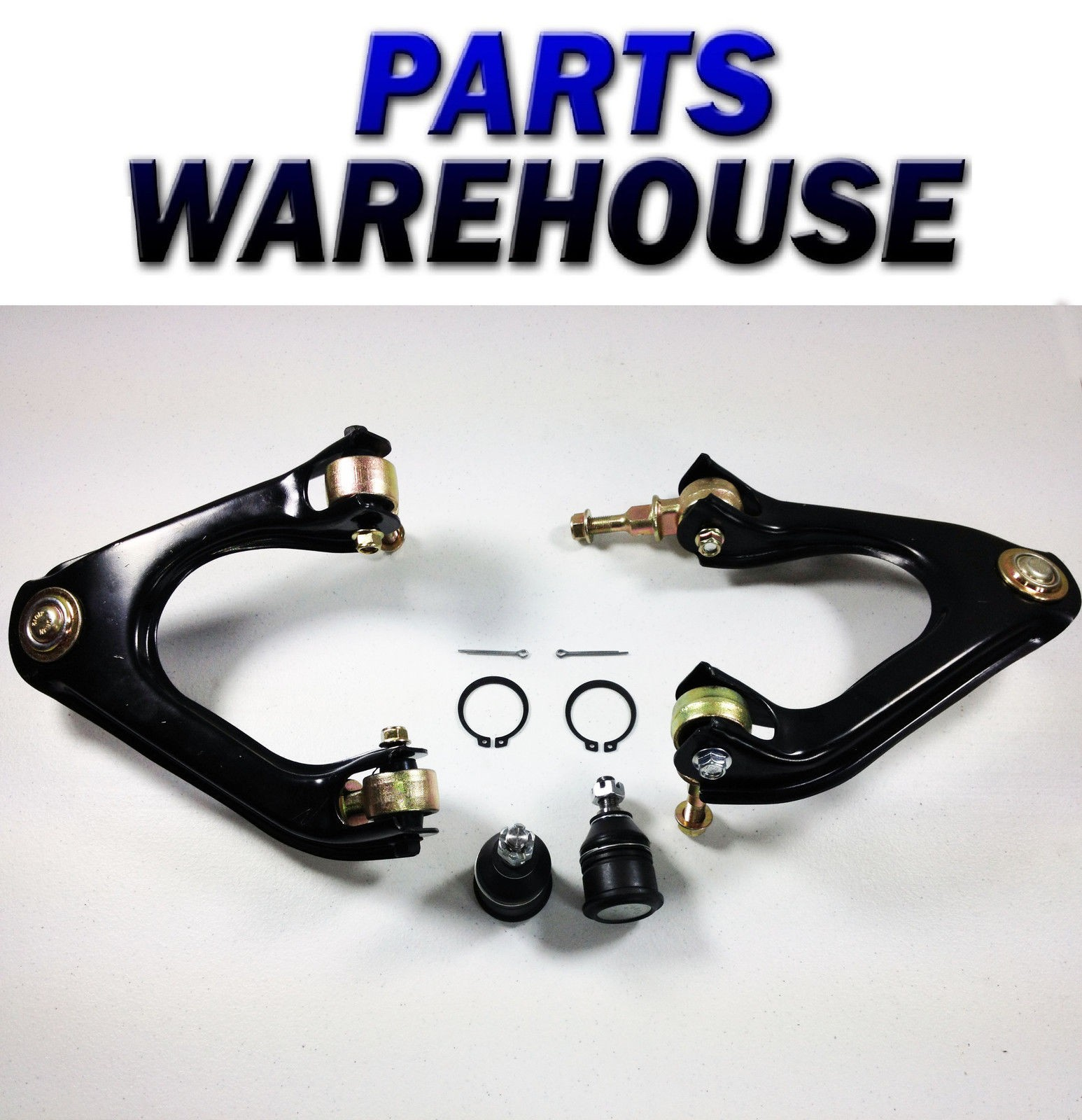 4 Suspension Parts Honda Accord 90 93 Lower Ball Joints Upper Low 1990 Engine Performance Problem Control Arm