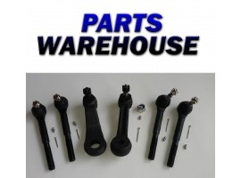 6 Steering Parts Idler Pitman Arm Inner Outer Tie Rod Ships From Usa Warranty