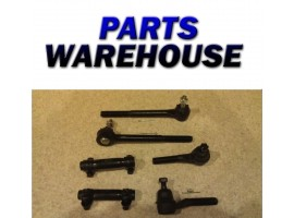 6 Piece Kit Inner & Outer Tie Rod Ends Adjusting Sleeves 4Wd 2 Year Warranty