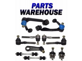 11 Pcs Kit 1999 Ford Expedition 4Wd Suspension Steering Parts 1 Year Warranty