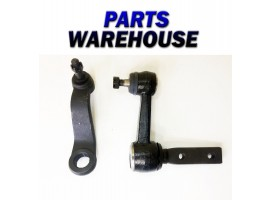 2 Piece Kit Pitman Arm Idler Arm Dodge Ram R2500 R1500 2Wd 1 Year Warranty