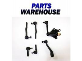 6 Pc Kit Tie Rod End Pitman Idler Arm For 4Wd Toyota 4Runner Pickup