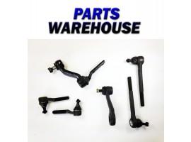 6 Pc Kit For Inner Tie Rod Ends Pitman Idler For Bravada S10 S15 2 Year Warranty