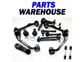 12Pc Front Suspension Kit For 1997-2003 Ford F-150 F-250 Expedition Rwd