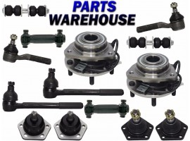14 Pcs Kit Front Wheel Hub Suspension Parts for Blazer Bravada Jimmy S10 Sonoma
