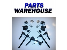 9 Upper & Lower Ball Joint Inner & Outer Tie Rod & Steering Idler Arm 4WD Only