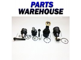 4 Ball Joints Ford Econoline E250 E350 E-250 92-03 Vans 1 Year Warranty