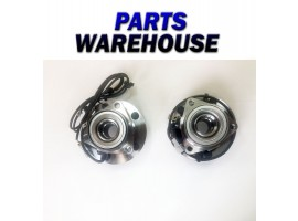 2 Wheel Hubs & Bearings For 97-99 Dodge Ram 1500 4X4 With Abs 3 Year Warranty