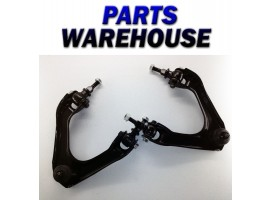 2 Front Upper Control Arms And Ball Joint Assembly Set Lifetime Warranty