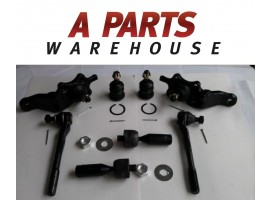 8 Piece Brand New Tie Rod End Ball Joint Kit For Toyota 4Runner 11 Year Warranty