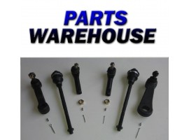 6 Pieces 2Wd 4Wd 4 Rack Ends 1 Idler Arm 1 Pitman Arm Gmc Sierra 1 Year Warranty