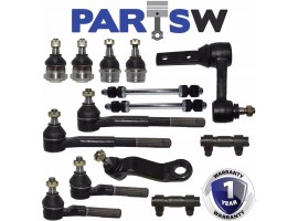 14 New Pcs Complete Front Suspension Kit For Dodge 1997-1999 Ram 1500 RWD